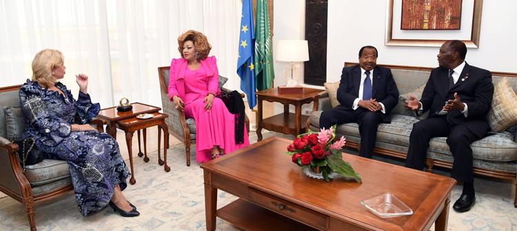 5ème Sommet UA – UE : le Couple Présidentiel Camerounais à Abidjan