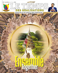 "Bulletin No.57 of the bilingual newsletter of the Civil Cabinet, ""Le Temps des Réalisations"""