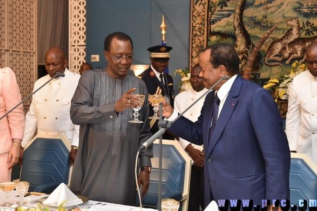 Visite au Cameroun de S.E. Idriss Deby Itno, Président de la République du Tchad - 28 et 29 octobre 2016 (18)