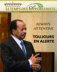"Bulletin No.63 of the bilingual newsletter of the Civil Cabinet, ""Le Temps des Opportunités"""