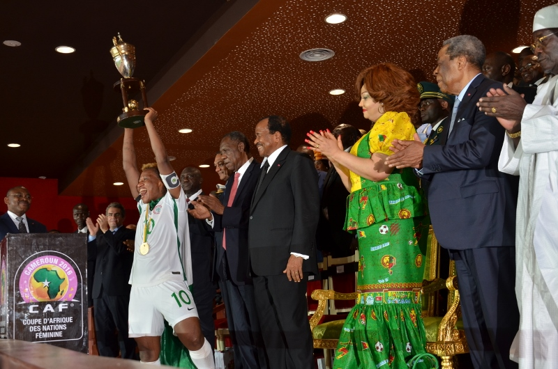 Closing Ceremony of the 2016 Women's Africa Cup of Nations in Cameroon