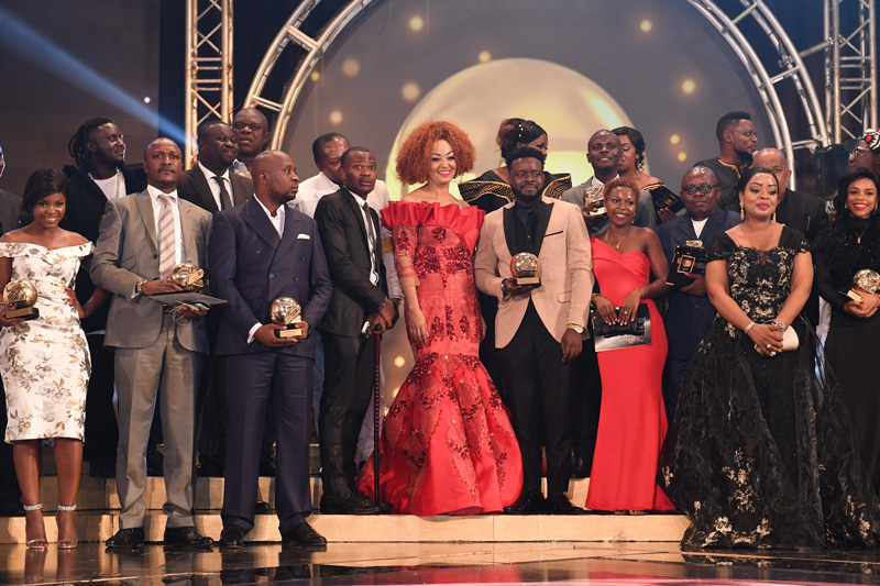 First Lady Pays Homage to Artistes and Comedians at 12th Canal d'Or Awards