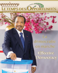 "Bulletin No.62 of the bilingual newsletter of the Civil Cabinet, ""Le Temps des Opportunités"""