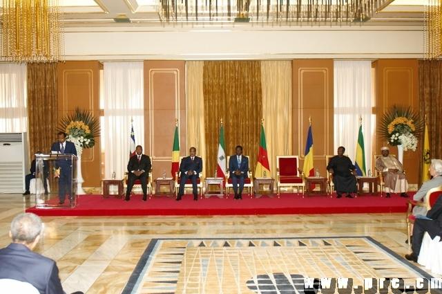 Sommet Extraordinaire des Chefs d'Etat d'Afrique Centrale (1)