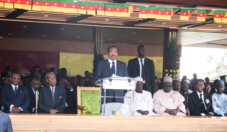 "Speech by His Excellency Paul BIYA, Commander-in-Chief of the Armed Forces on the occasion of the graduation ceremony of the 36th batch of the Combined Services Military Academy (EMIA) christened ""Unity and Diversity"""