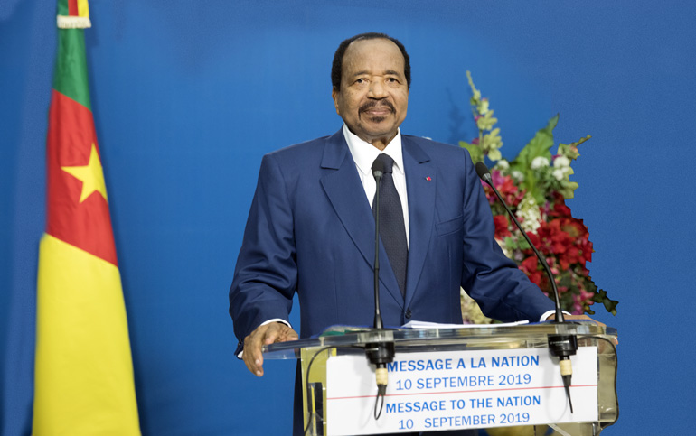 North-West/South-West: President Paul BIYA convenes Major National Dialogue