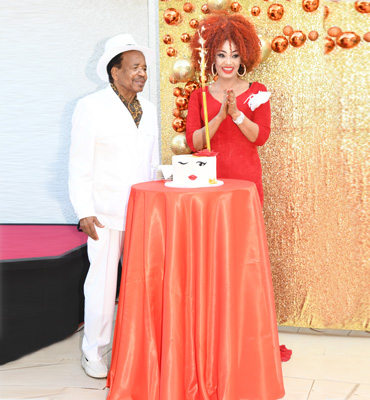 Happy Birthday First Lady Chantal BIYA!