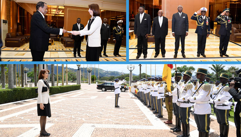 Turkish Ambassador Presents Letters of Credence to President Paul BIYA