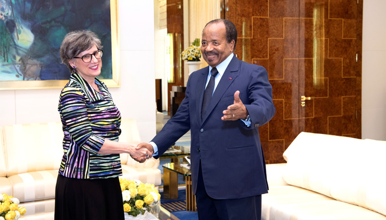 Canadian High Commissioner Bids Farewell to President Paul BIYA