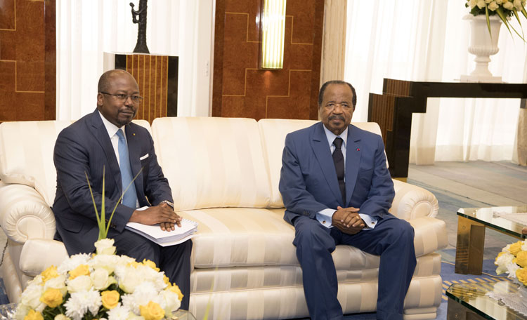 ECCAS Reform Proposals Presented to President Paul BIYA