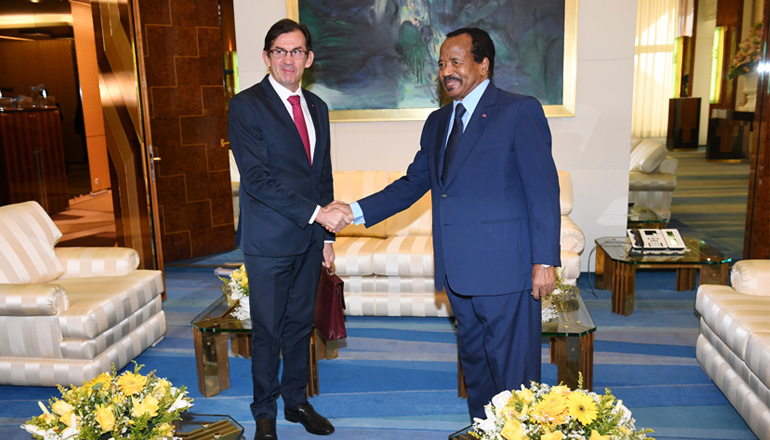 President Paul BIYA, French Ambassador Discuss Urban Development in Cameroon
