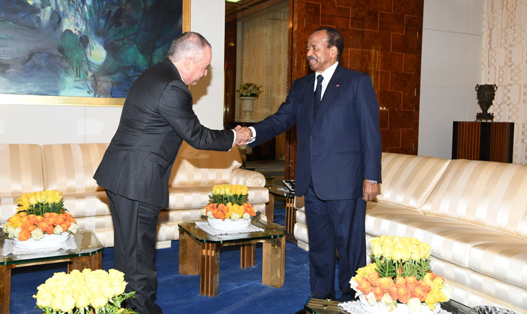 Israeli Ambassador at Unity Palace to bid farewell
