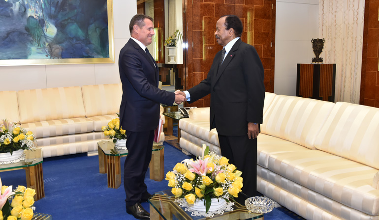 President Paul BIYA receives Letter from Swiss President