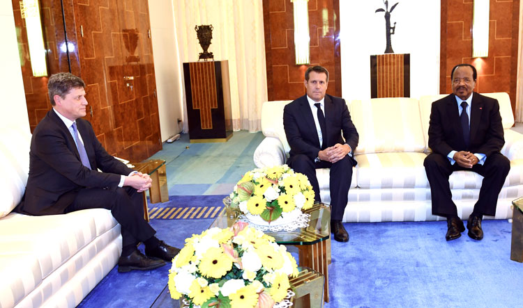 President Paul BIYA receives Swiss Ambassador at the Unity Palace