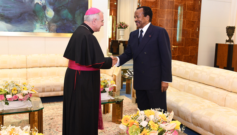 Pope FRANCIS sends Reassuring Message to President Paul BIYA