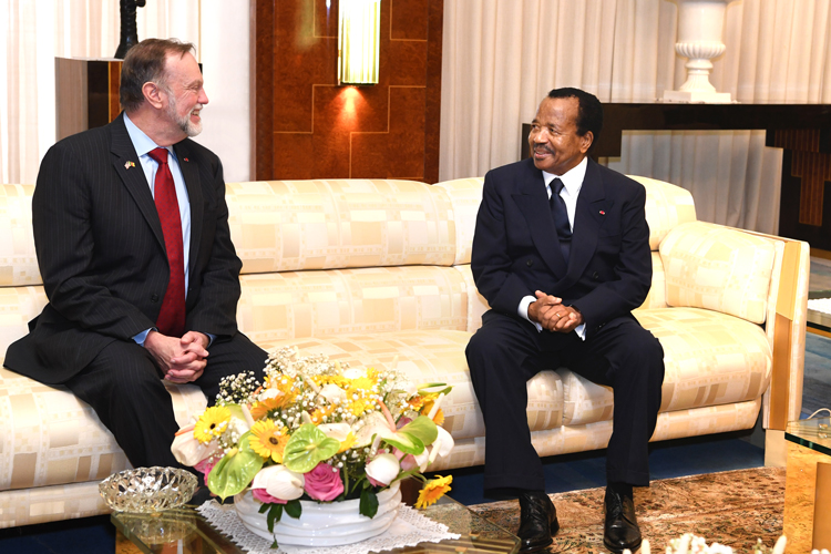 U.S. Assistant Secretary for Africa at the Unity Palace