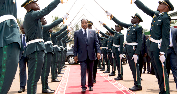 President BIYA Presides Over 36th Graduation Ceremony of EMIA Cadets