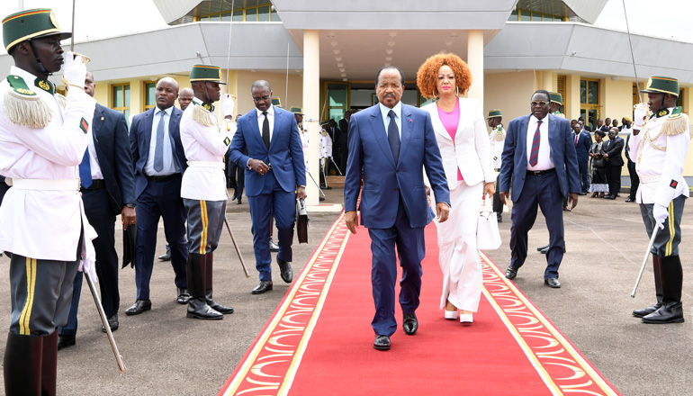 Cameroon's Presidential Couple Travels to Europe