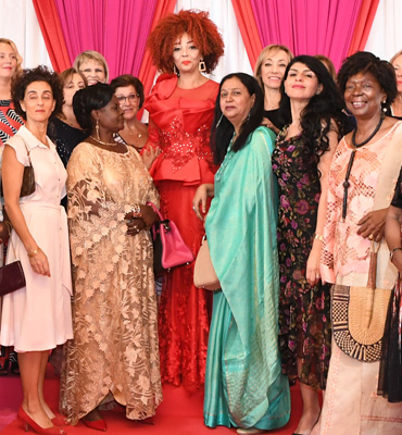 First Lady Receives 2020 New Year Wishes from Wives of Diplomatic Corps and National Dignitaries