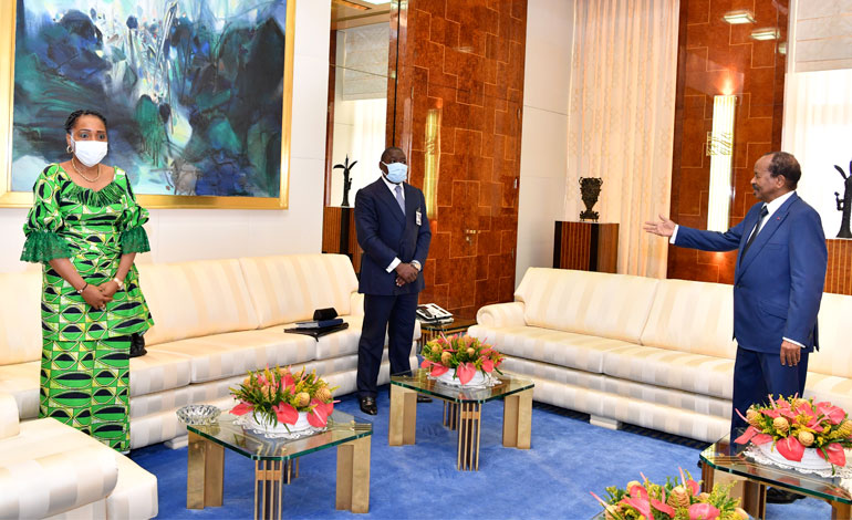 Congolese Envoy Delivers Message on Impact of COVID-19 on Sub-region's Economy