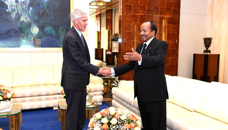 President Paul Biya, U.S. Ambassador Discuss Health Cooperation