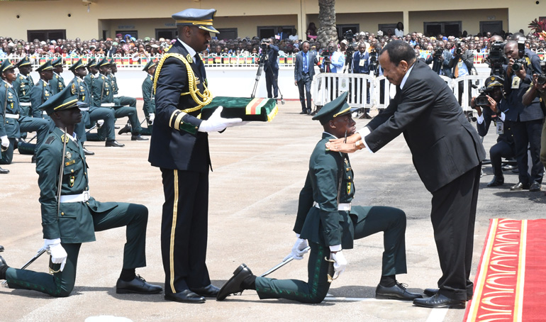 President Paul BIYA renews Nation's Confidence in Military at EMIA's 37th Graduation