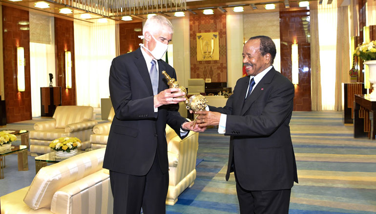 President Paul BIYA Bids Farewell to Outgoing U.S. Ambassador