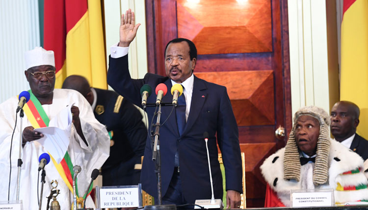 Paul BIYA takes Oath of Office to Start Mandate of Great Opportunities