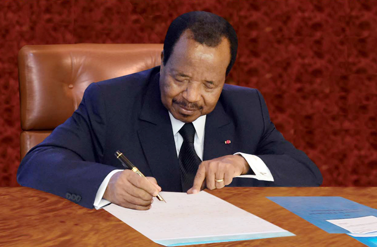 President Paul BIYA convenes electoral colleges for Regional Councillors