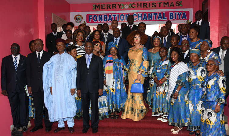 Close to 3,000 Needy Children Receive Christmas Gifts at Chantal BIYA Foundation