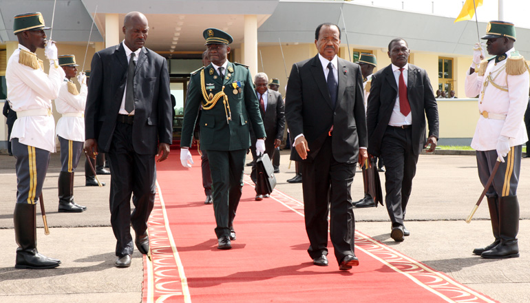 President Paul BIYA in Nigeria for security summit