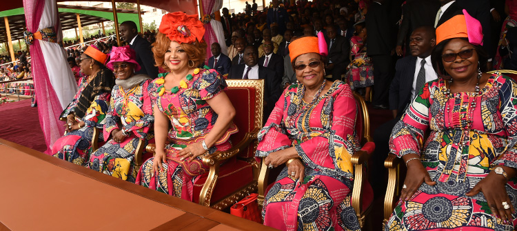 Over 70,000 Celebrate 33rd Women's Day with Mrs. Chantal BIYA in Yaounde