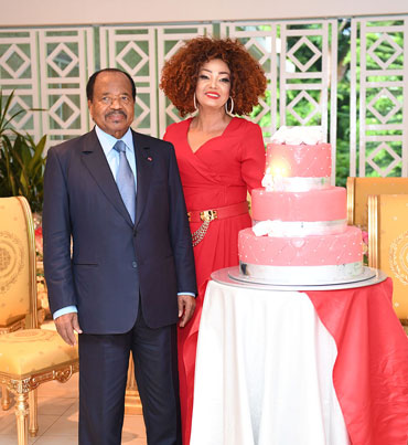 Happy Birthday Mrs Chantal BIYA!