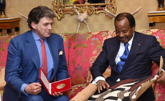 Benjamin De Rothschild Received At Unity Palace
