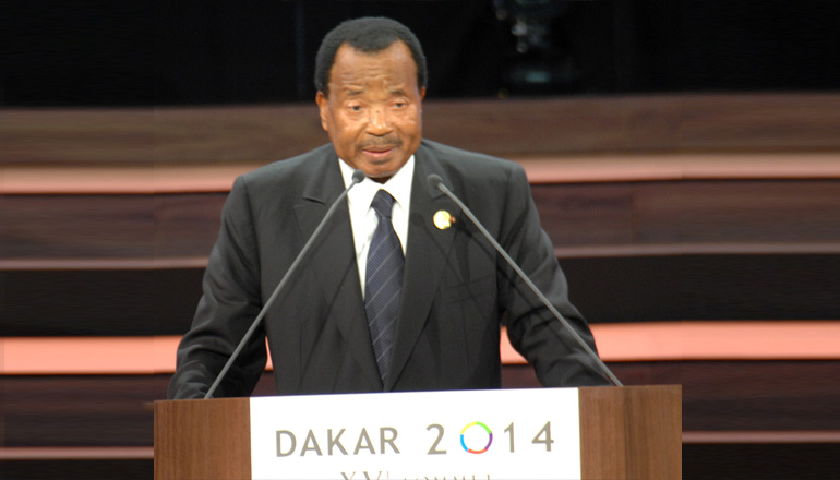 Speech by H.E. Paul BIYA, during the opening ceremony of the 15th summit of the international organization of la Francophonie