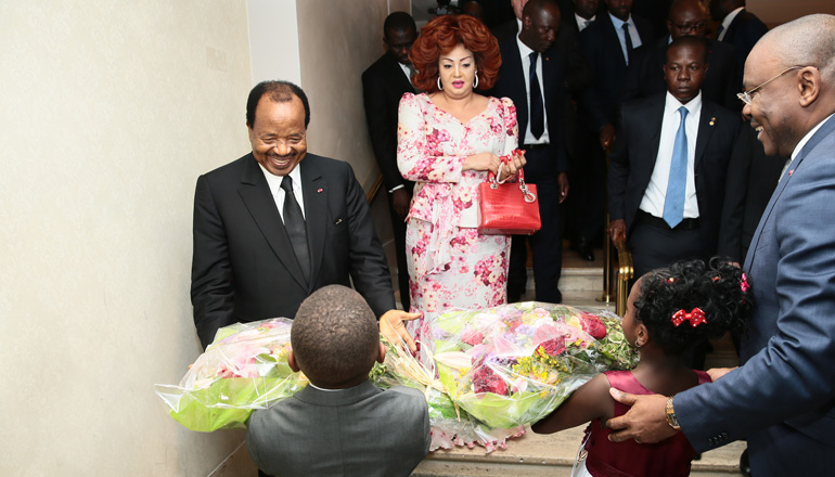 President Paul BIYA arrives New York for 71st session of UNGA