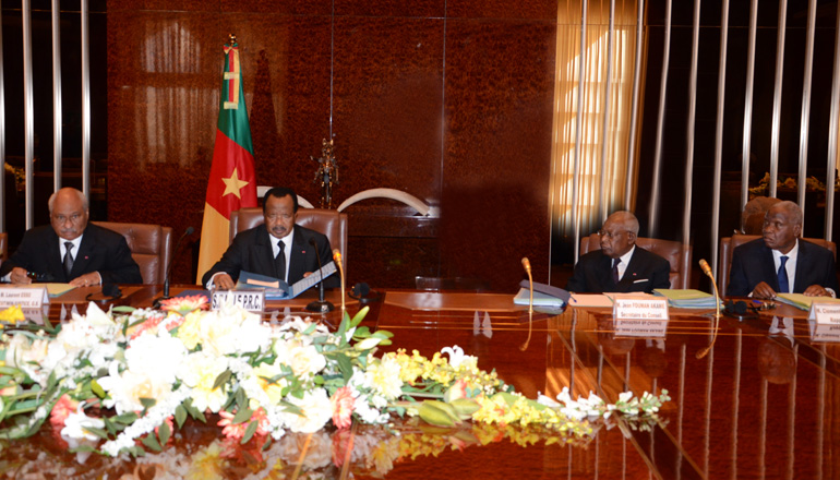 Higher Council of Magistracy meeting at Unity Palace