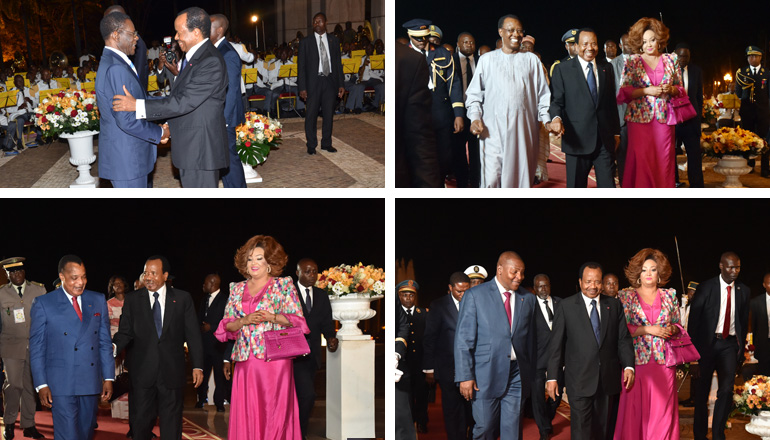 Leaders of Central Africa Arrive in Yaounde for an Extraordinary Summit