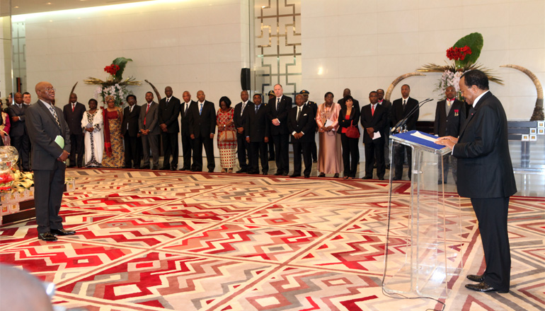 Speech by the head of state in response to New Year wishes from the diplomatic corps
