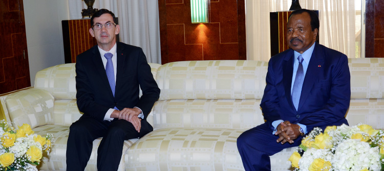 President Paul BIYA, French Ambassador Discuss Economic Opportunities in Cameroon
