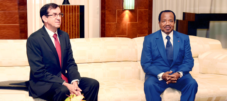 President Paul BIYA Discusses Fight against Terrorism with French Ambassador
