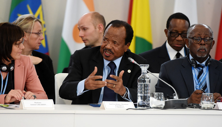 "Address by H.E. Paul BIYA, President of the Republic of Cameroon, at the Mini-Summit on Africa on the Theme ""Climate Challenge and African Solutions"""