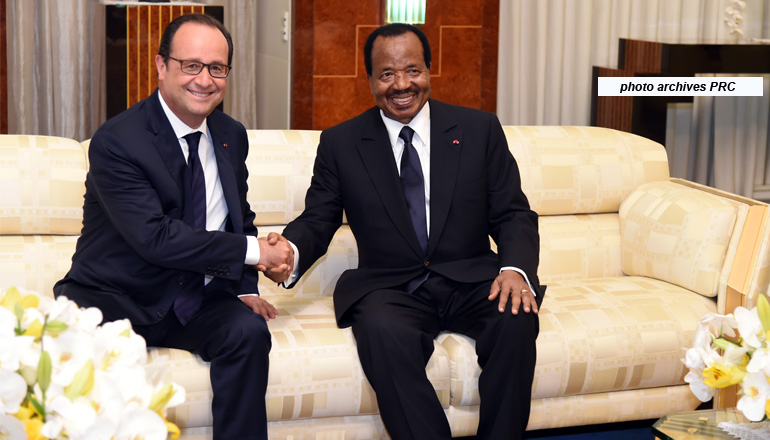 President BIYA sends message of congratulations to French President on the occasion of their national day