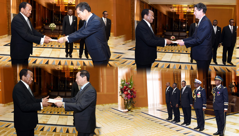 Presentation of letters of credence at Unity Palace