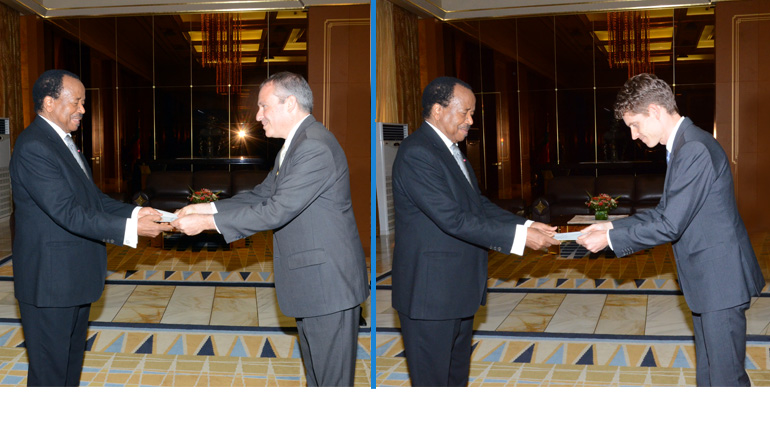 New Israeli and Belgian Ambassadors present credentials at the Unity Palace