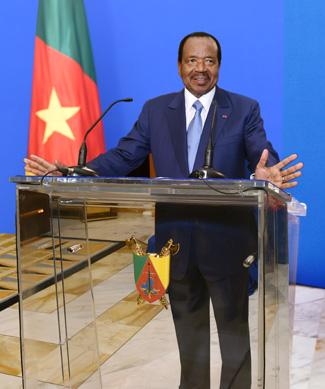 MESSAGE PRÉSIDENT RÉPUBLIQUE CAMEROUN.