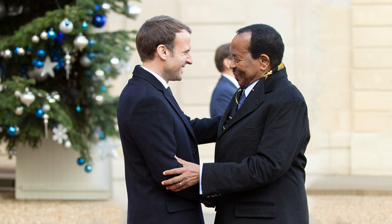 One Planet Summit: President Paul BIYA attends Lunch at Elysée Palace