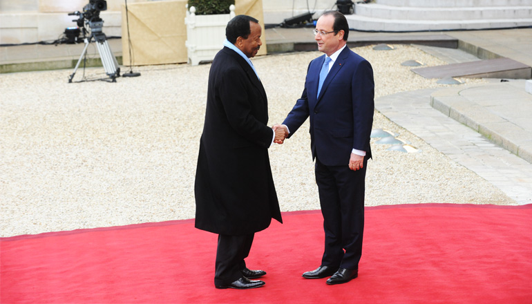 Thank You Message to President François HOLLANDE