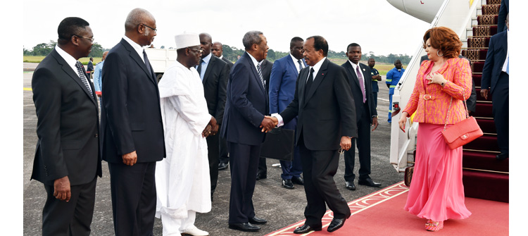 President Paul BIYA and Wife are back home