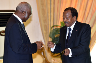 Image result for images of of President Paul Biya philemon yang in cameroon